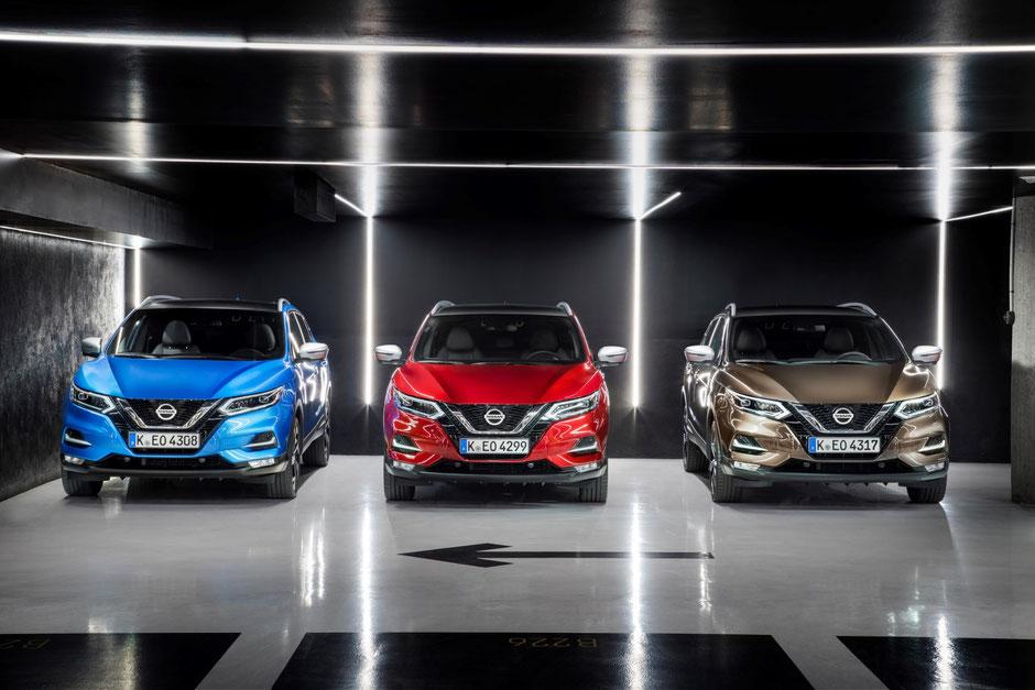 Nissan Qashqai au Top en Europe en 2019 !