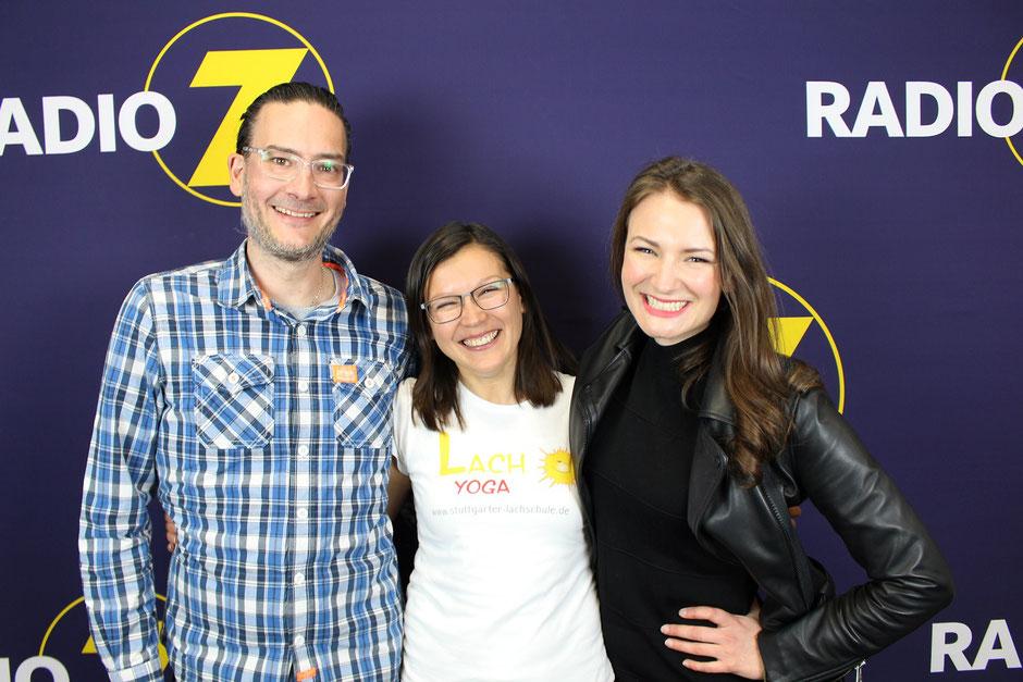 Lachyoga bei Radio 7