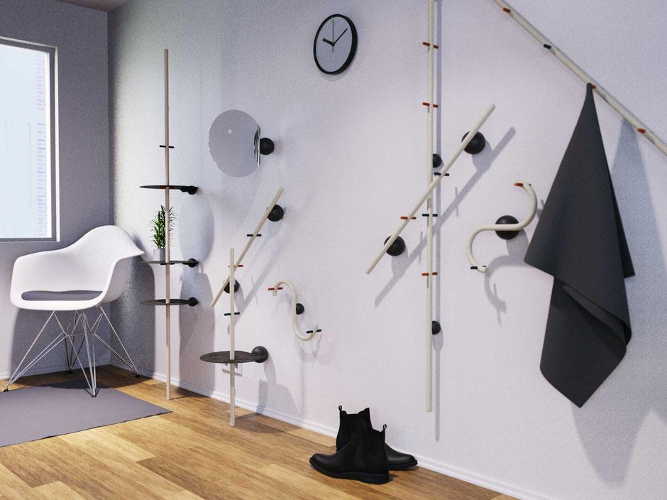 Wardrobe, Sticks, Magunetto