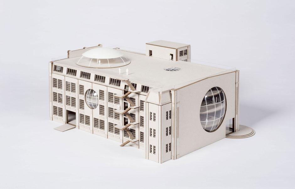 Schönherr Fabrik Chemnitz, Kooperationsprojekt, HTW Dresden, Architecture, Design,