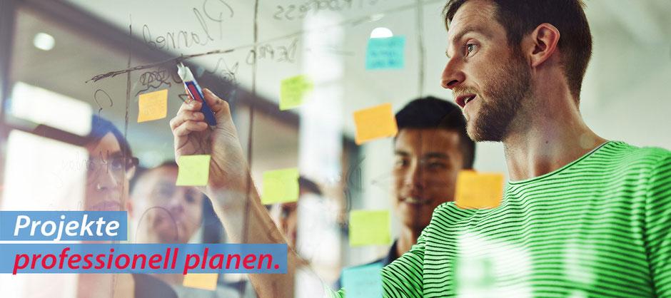 Projekte professionell planen - mit OfficeAssistant ERP CRM