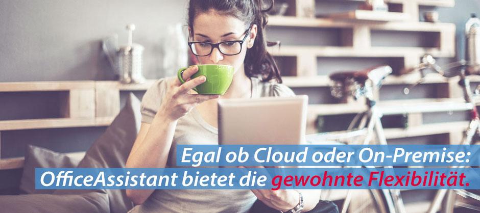 OfficeAssistant ERP und CRM, für Cloud und On-Premise