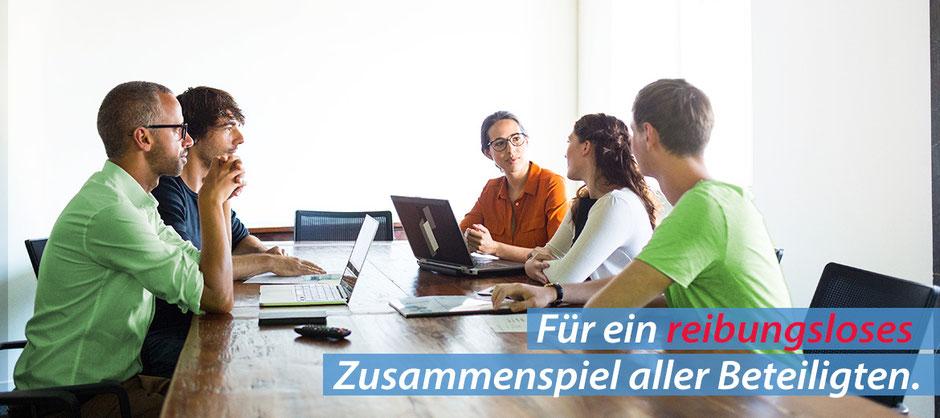 Für ein reibungsloses Zusammenspiel aller Beteiligten - OfficeAssistant CRM