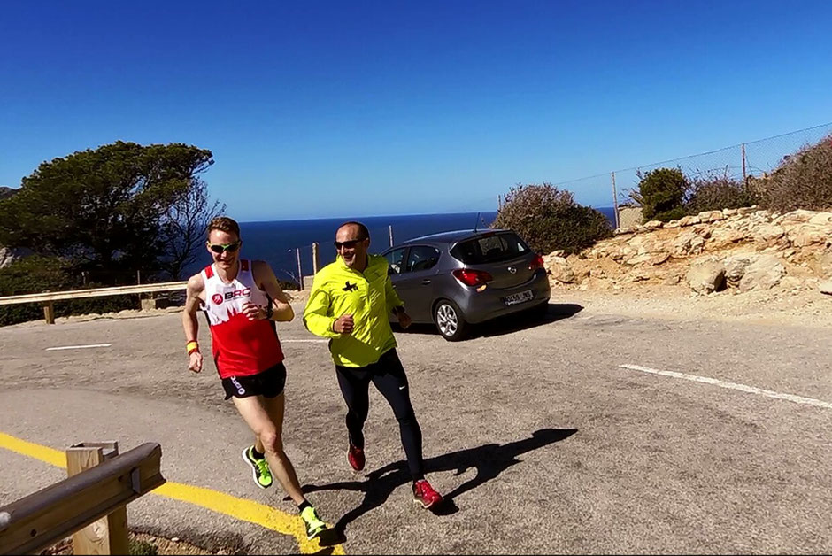 Final curves up to Cap Formentor with Toni Pena (Picture: Martina Fiedler)