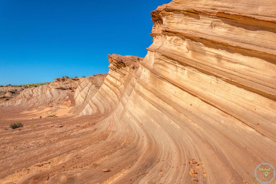 Great Wall Waterholes Canyon Page Arizona