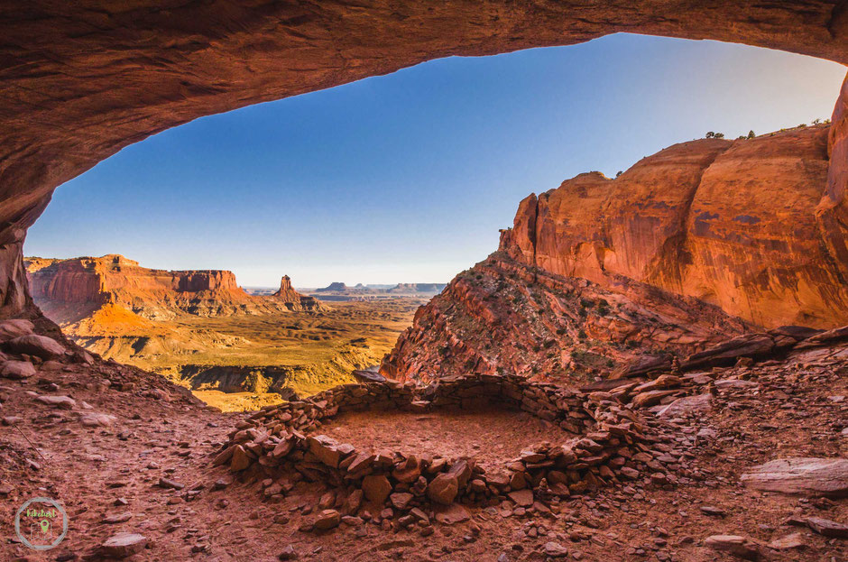 False Kiva Canyonlands Nationalpark