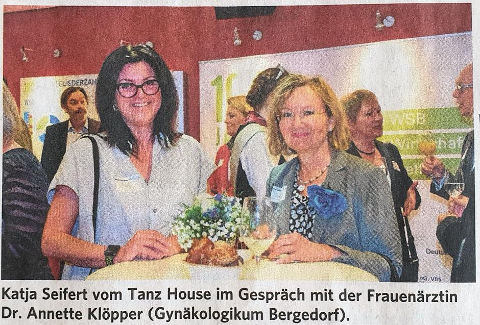 Bergedorfer Zeitung 30.03.2019 - Feierlichkeit zum 100. Geburtstag des Bergedorfer Wirtschaftsverbands WSB.