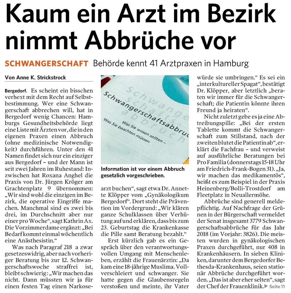 Bergedorfer Zeitung 04.10.2019