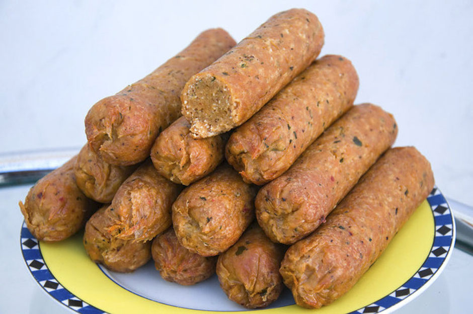 Vegane Bratwurst Rezept