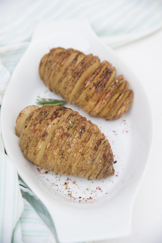 Fächerkartoffeln vegan