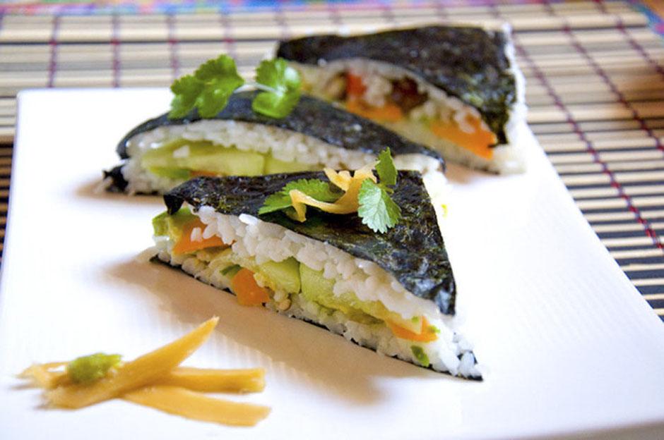 Sushi- Sandwich vegan