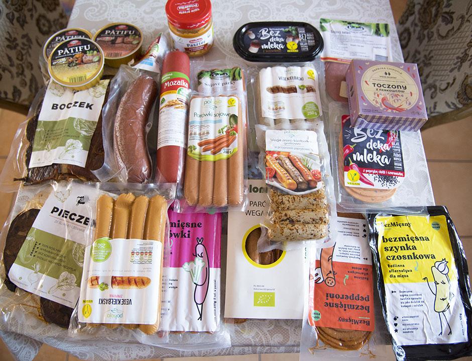 Ausbeute von Urban Vegan in Polen