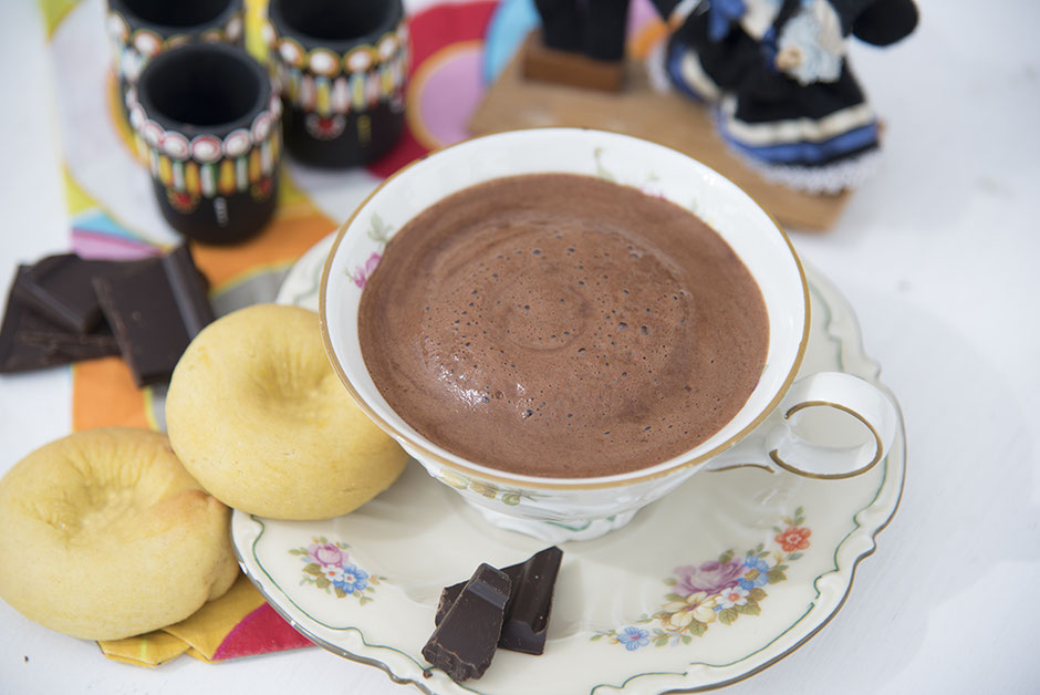 Chocolate caliente heisse Schokolade vegan