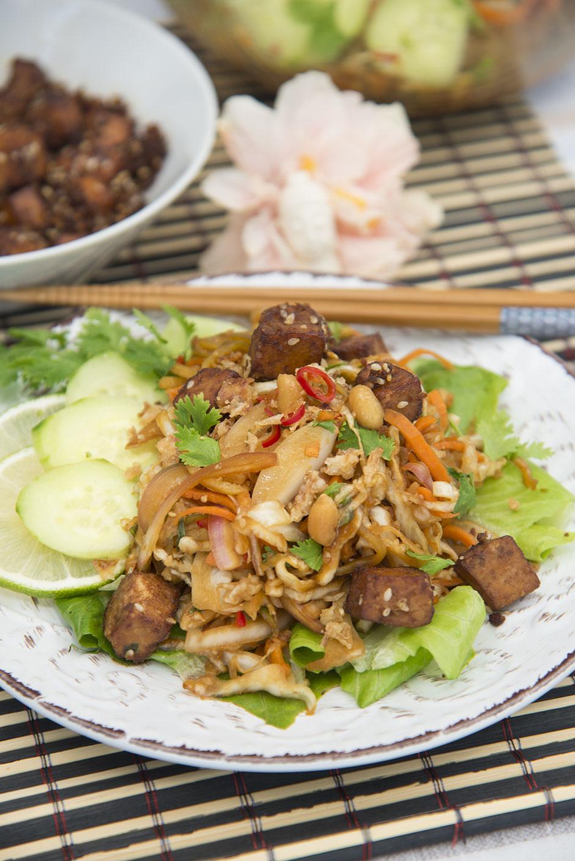 Kohlsalat nach Thaiart vegan