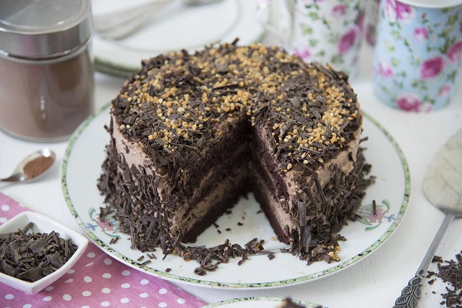 Schokoladentorte vegan