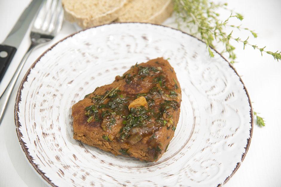 Veganes Steak, Seitansteak