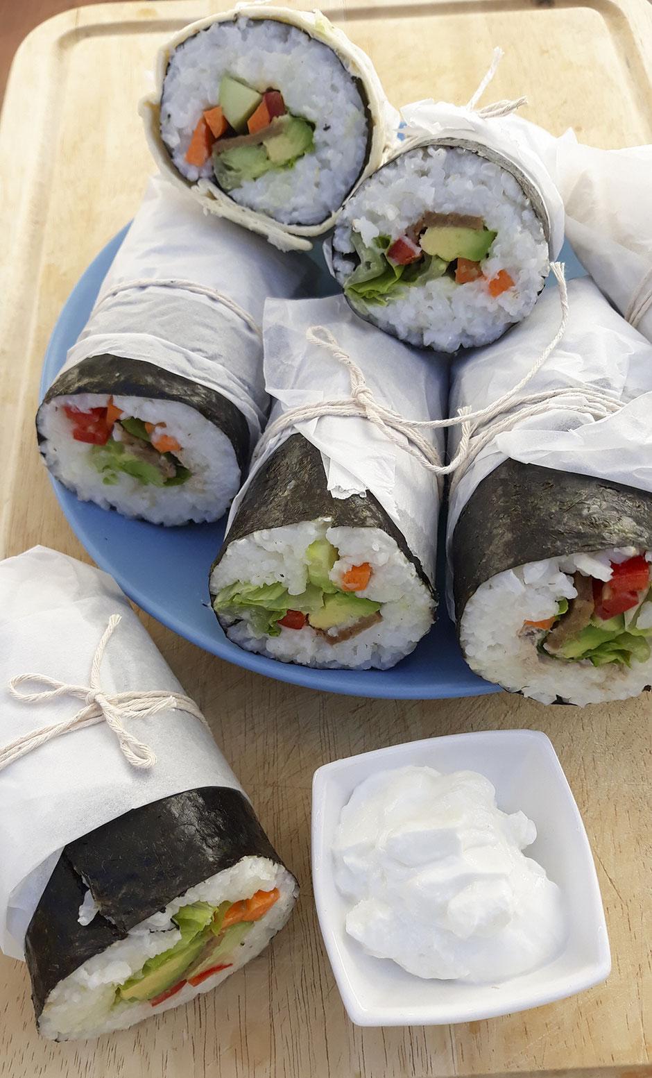 Sushi Wrap vegan