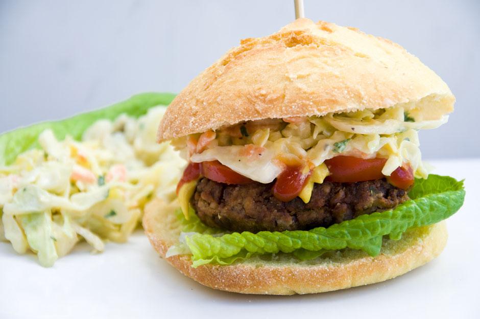 Bohnenbratlinge, Kidneybohnenbratlinge, vegan Burger