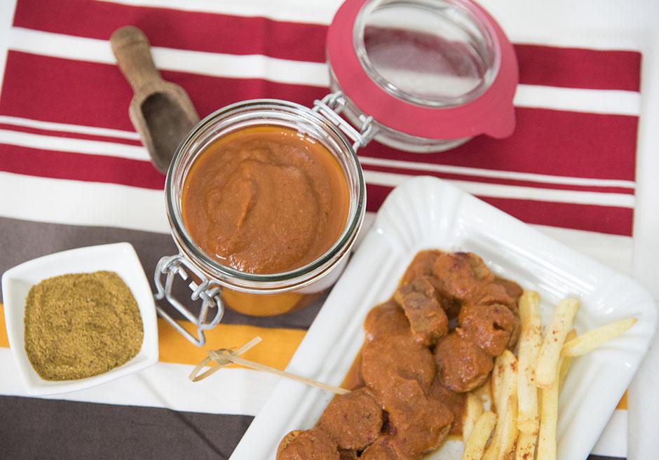 Currywurst-Sauce vegan