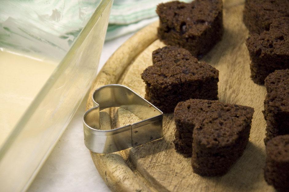 Hidden Cake Design vegan  Herzmotiv Valentinstag
