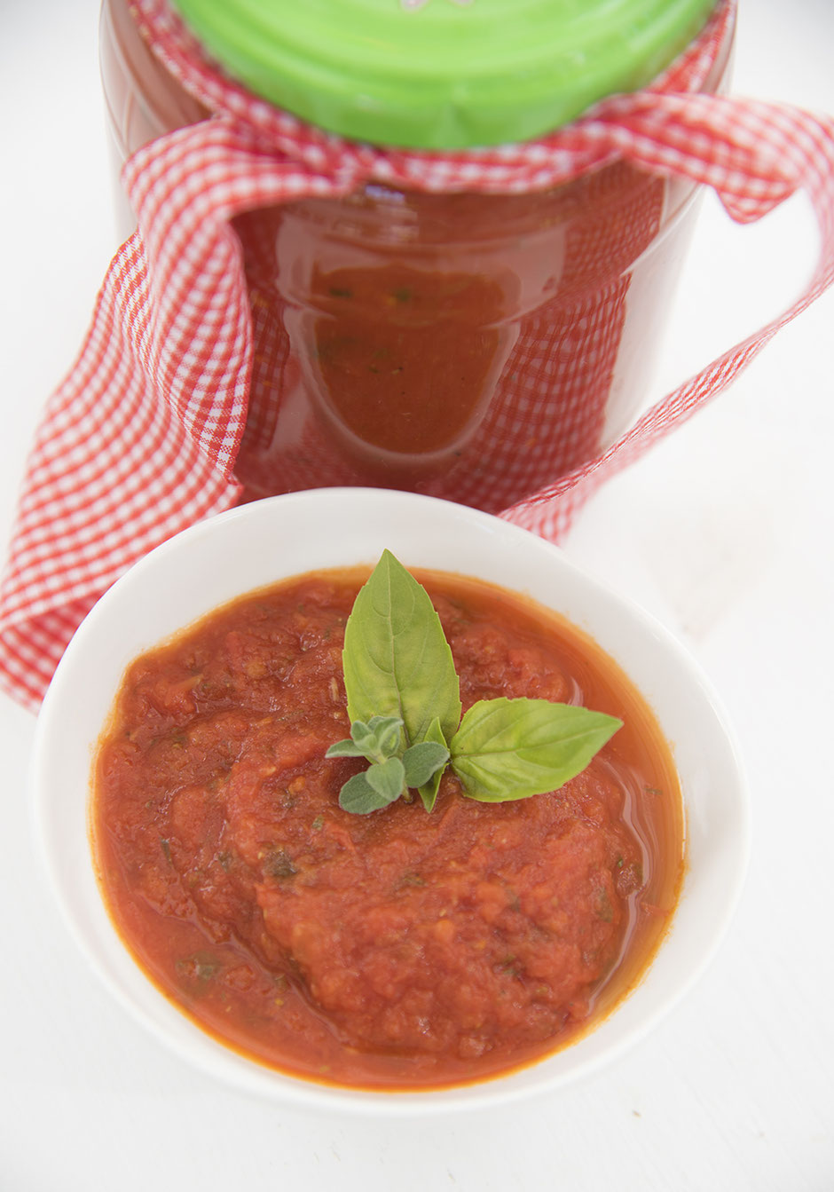 Haltbare Tomatensauce, vegan