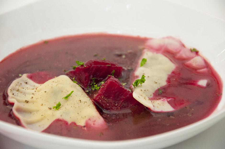 Barszcz- Rote Beete Suppe