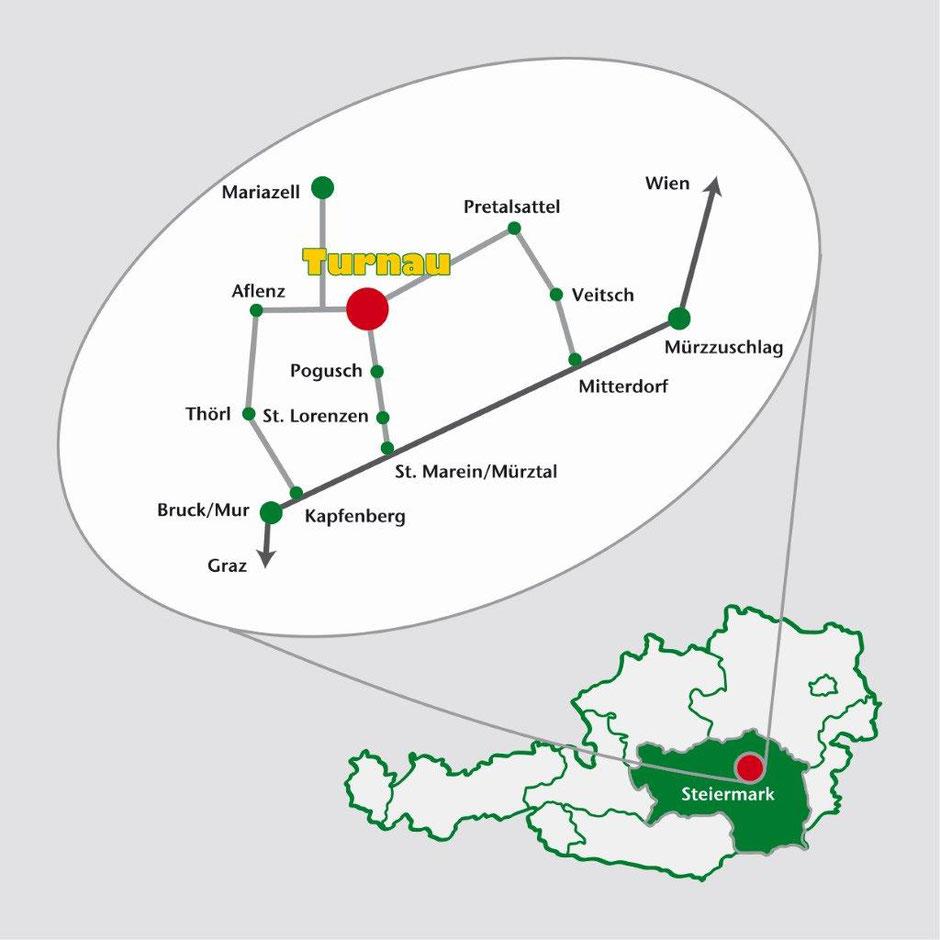 Turnau – im grünen Herzen von Österreich