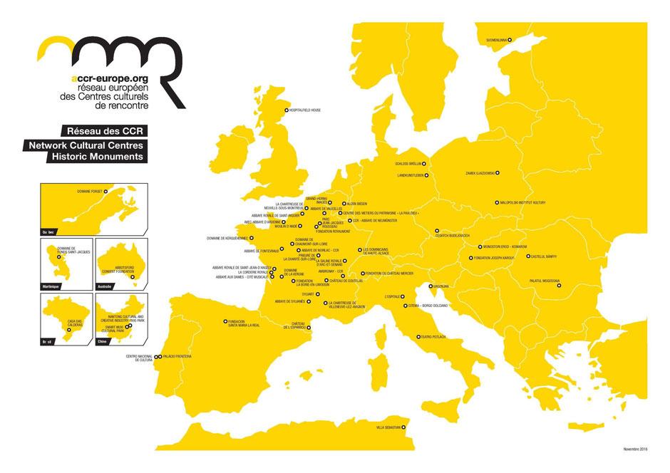 CCR Les projets Européens