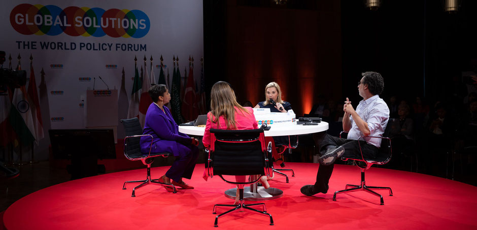 "Panel on ""Promoting Women's Economic Empowerment"" on the Global Solutions Summit 2019 