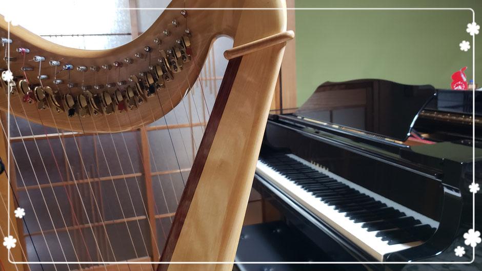 長崎県 諫早市  ピアノ教室 ハープ教室 大人のピアノ 習い事