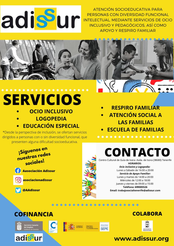 Proyecto Atención socioeducativa para personas con diversidad funcional intelectual (Tenerife) - Adissur