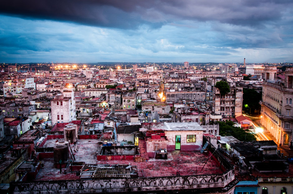 Cuba, Avana, vista dal palacio Bacardi