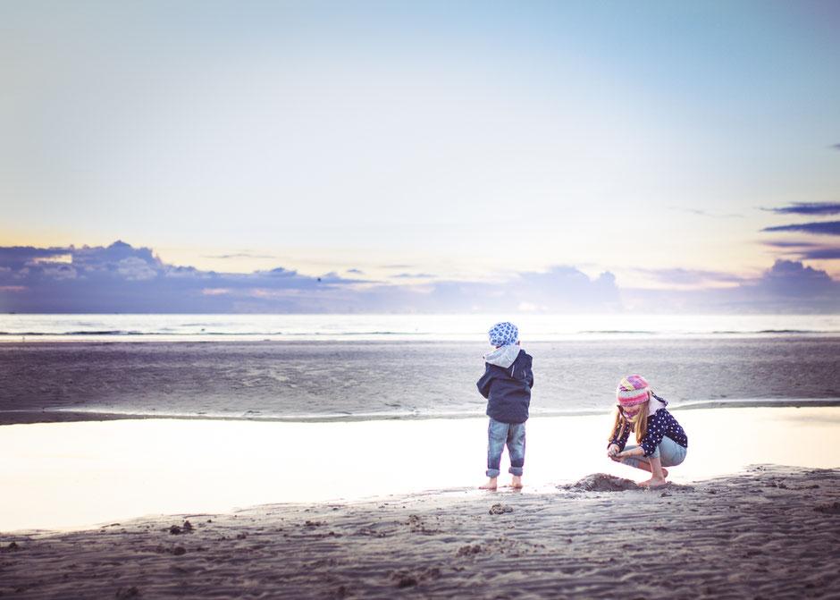 Fotografie Corinna Mamok, Kinderfotos Strand, Tipps Urlaubsfotos Kinder