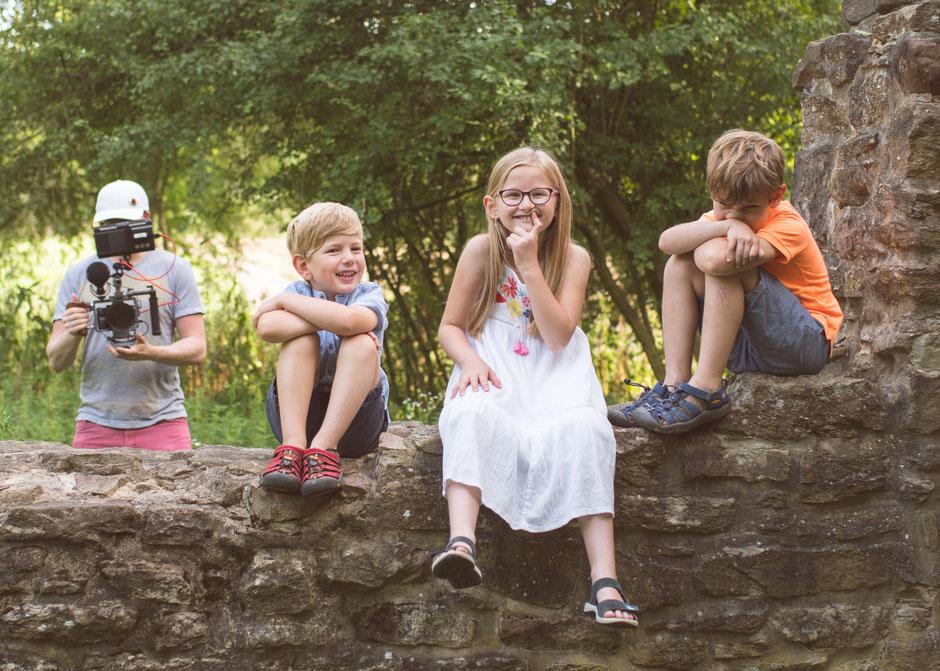 Fotografie Corinna Mamok, Imagefilm Familienfotograf,