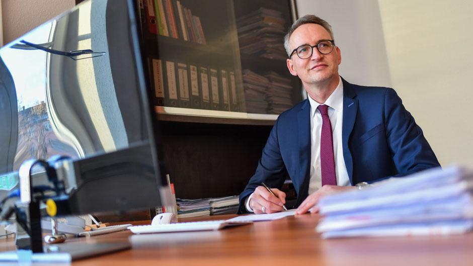 Oberbürgermeister Uli Pötzsch