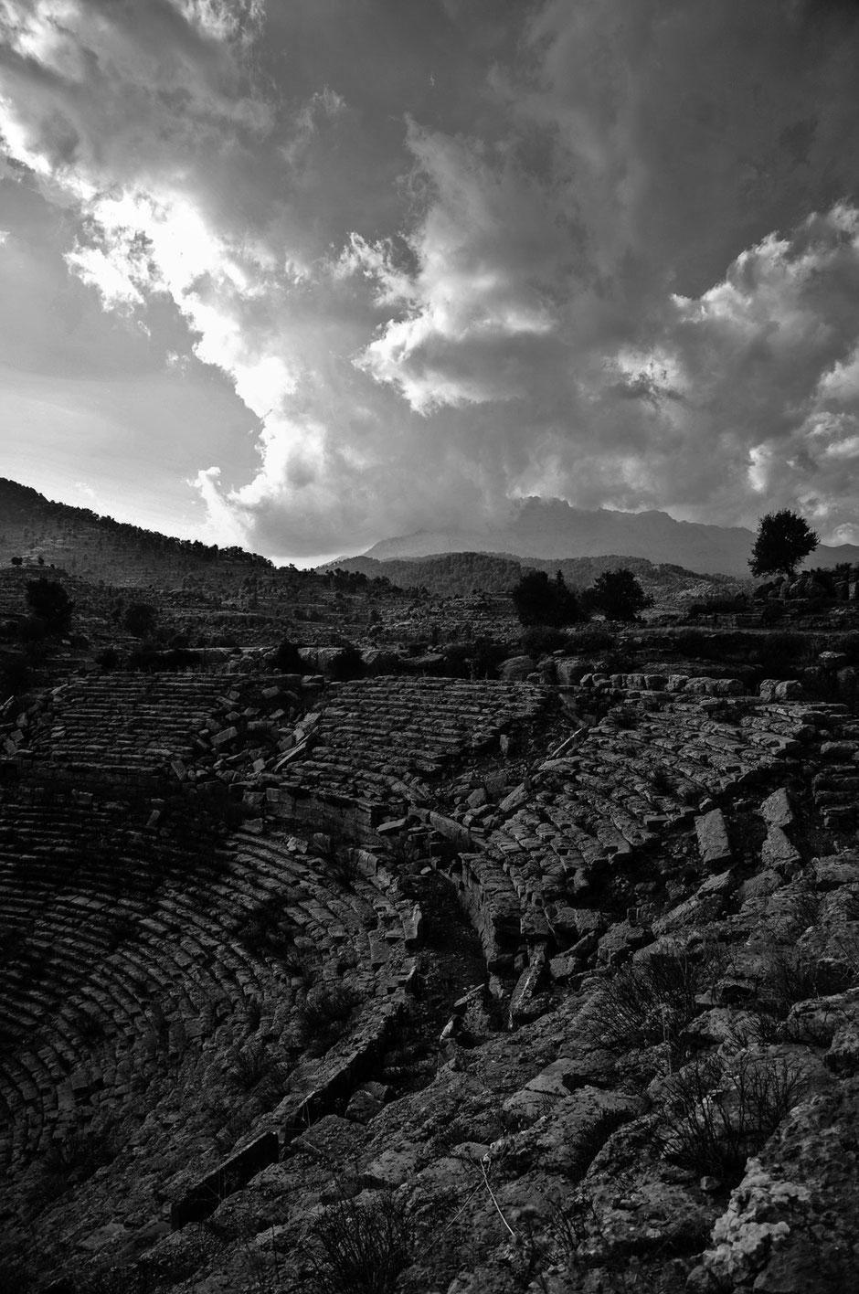 Griechisch-römisches Theater bei Selge