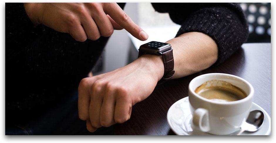 QUADOCTA Apple Watch Leder Armband