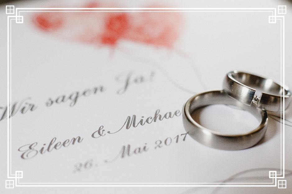 Hochzeitsringe silber