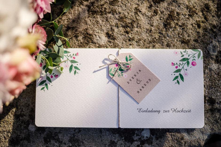 Einladung Hochzeit, Hochzeit auf dem Gutshof von Jeinsen und im Teichhus