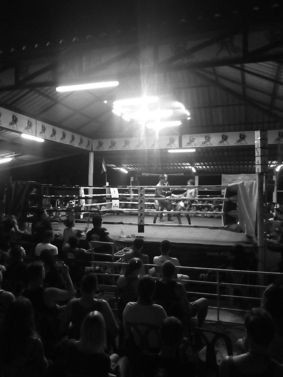 Ko Tao, Muay Thai Boxen, Kampfsport, Thailand, Zwei auf Achse, Backpacking