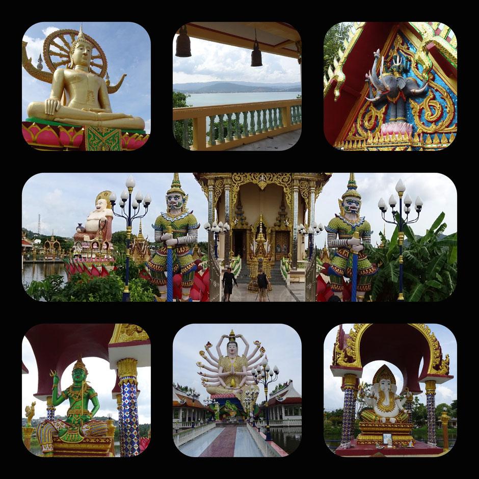 Koh Samui, Thailand, Big Buddha, Nuan Na Ram, Wat Plai Leam, Statue, Tempel, Thailand 2016, Zwei auf Achse, Backpacker
