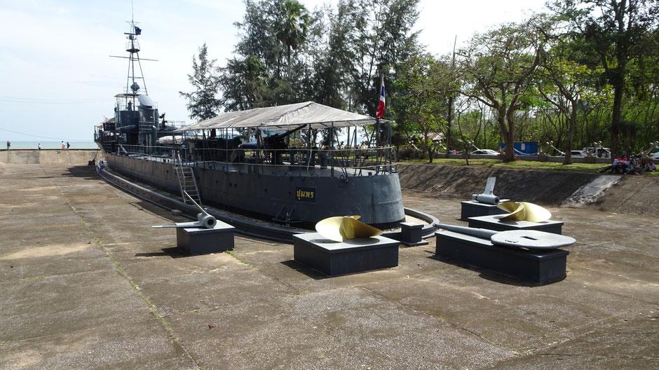Thailand Kriegsschiff Park Mu Ko