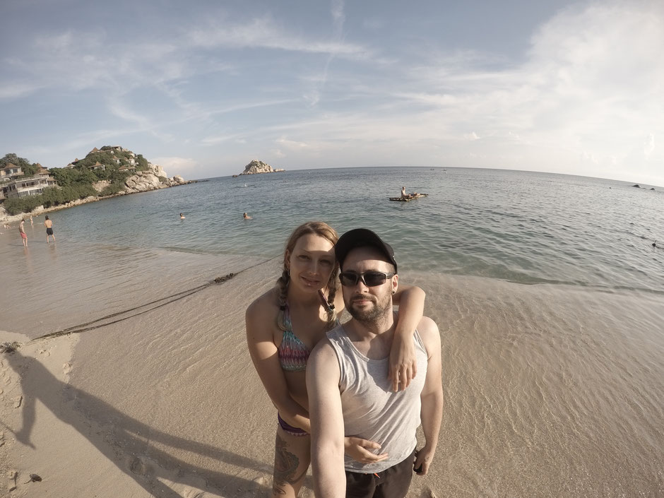 Ko Tao, Strand, Shark-Bay, Badestrand, Thailand, Thailand 2016, Meer, Ocean, Strand, Beach