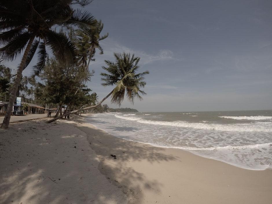 Sai Ri Beach, Thailand, Chumphon, Beach, Strand, Palmen, Meer, Backpacker, Zwei auf Achse,