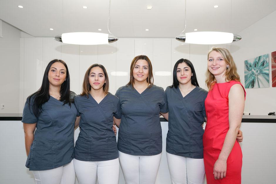 Praxisteam Dr. Rassaf in Frankfurt-Niederrad