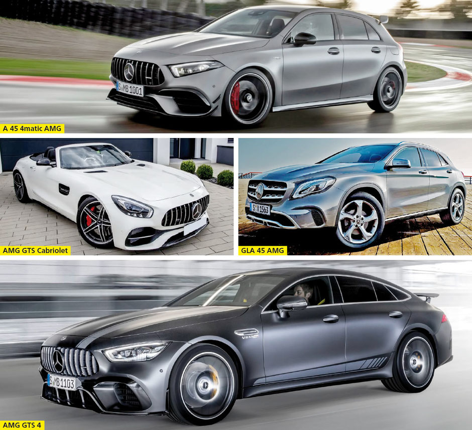 Mercedes-Benz Automobil AG, Stäfa - B-Klasse •  GLB •  GLS •  EQC •  GLE Coupé •  A 45 4matic AMG •  AMG GTS Cabriolet •  GLA 45 AMG •  AMG GTS 4
