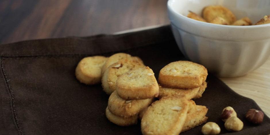 Kerstins Keto, Haselnuss Biscotti, glutenfrei