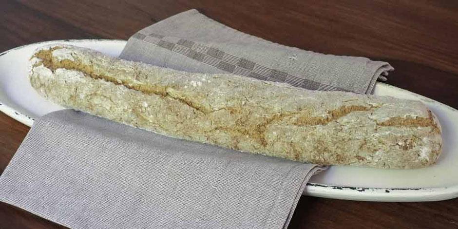 LCHF Baguette aus Mandelmehl und Kokosmehl