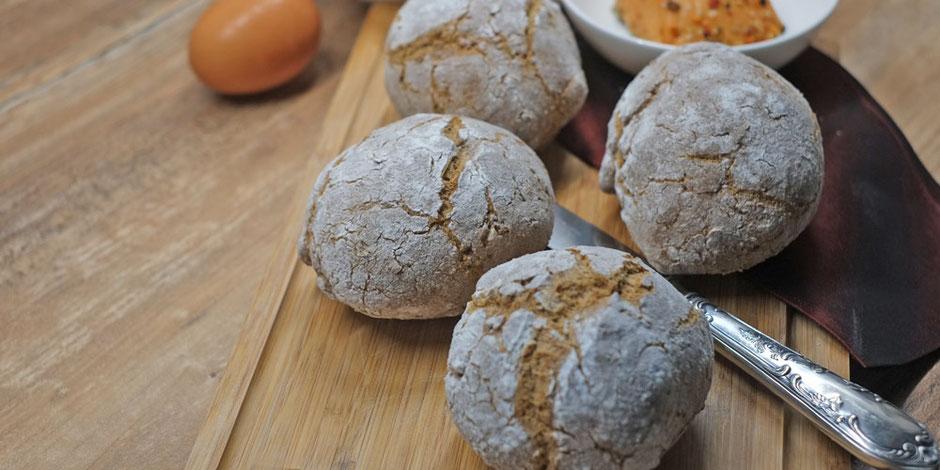 Kerstins Keto, glutenfreies Brot aus der Heissluftfritteuse ohne Whey