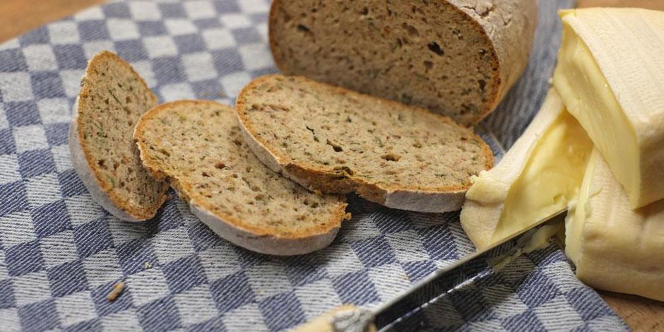 Kerstins Keto, glutenfreies Brot aus der Heissluftfritteuse